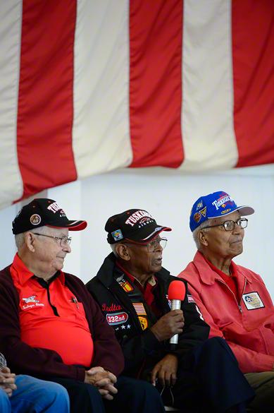Tuskegee Airman, George, Alexander & Charles