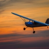 Simple Click – Sunset Flight