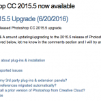 Photoshop CC 2015.5 FAQ