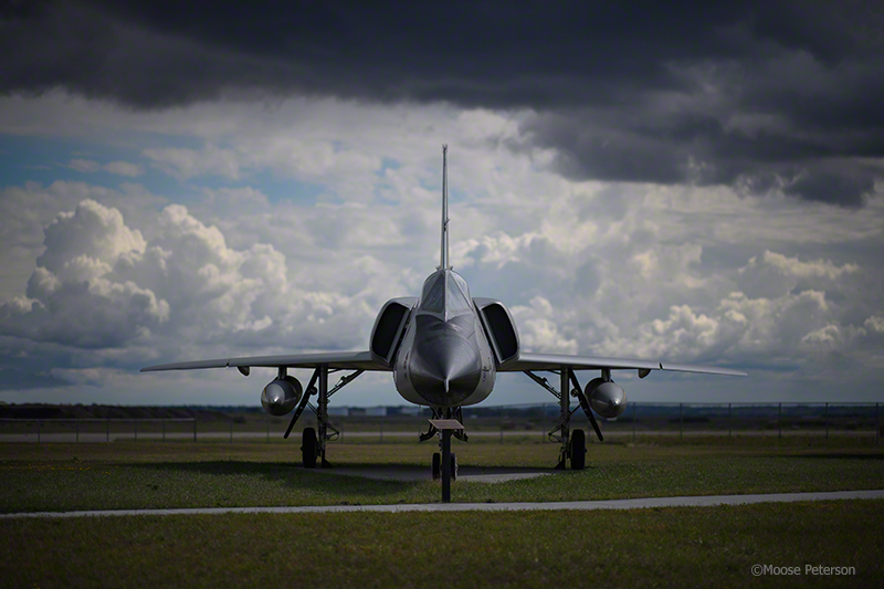 F-106 Delta Dart photo taken with D5 / 105f1.4 AFS