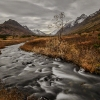 Alaska Handheld Blurred Creek