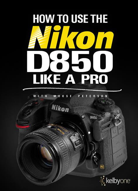 Nikon D850 KelbyOne Class Now Posted