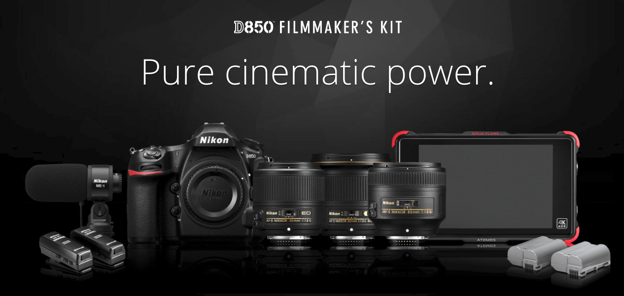 D850 Filmmaker Kit