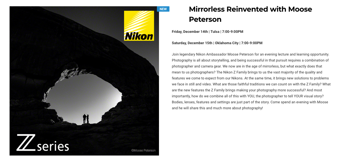 Nikon Z, Bedfords and Me This Weekend!