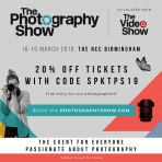 The Photography Show – Tomorrow Baby!
