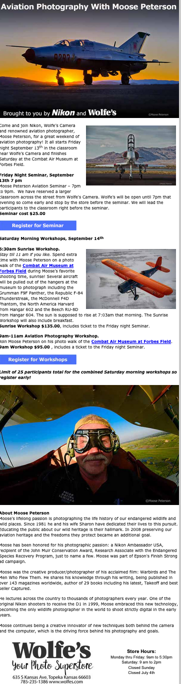 Moose Aviation Presentation This Friday!