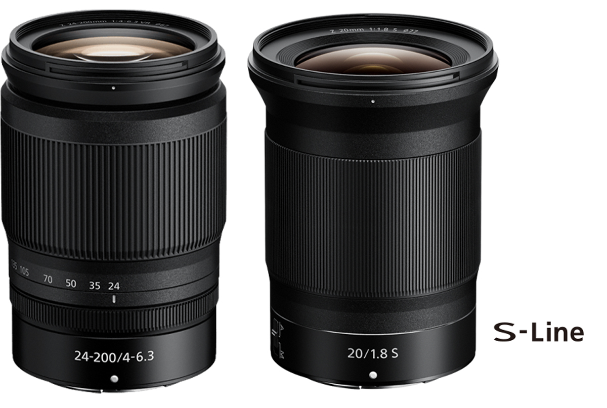 New Z Lenses 20f1.8 / 24-200